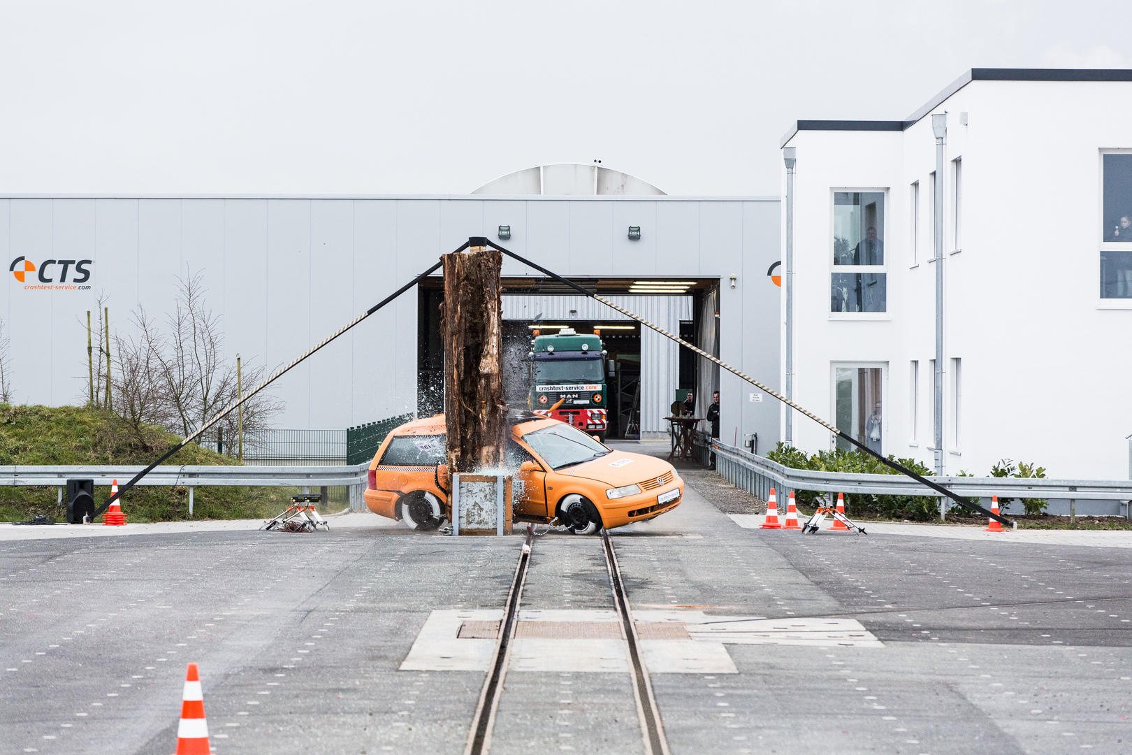 Crash test facility - About CTS |